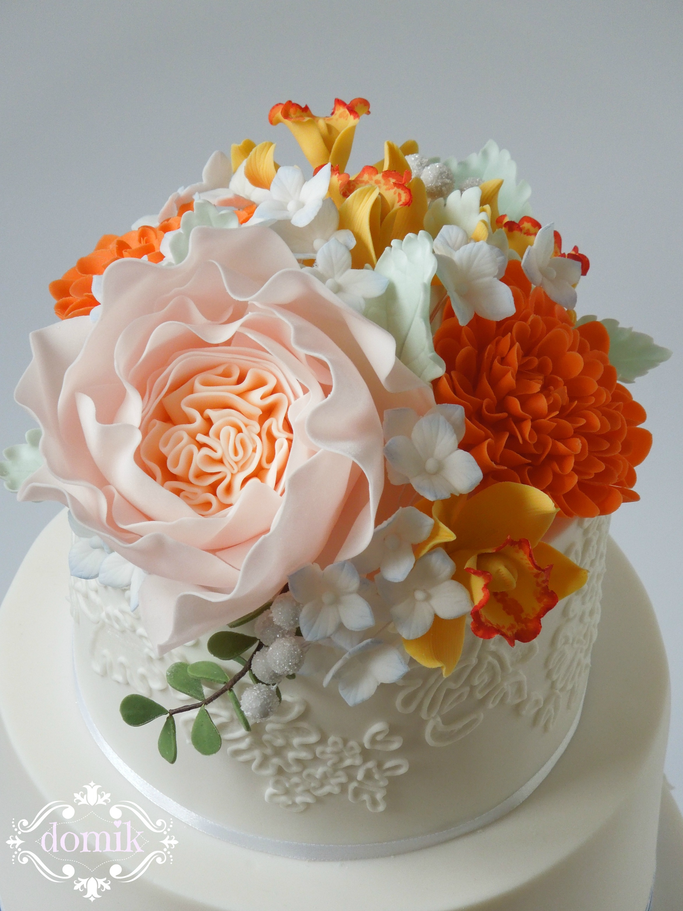 Fall Wedding Cake CakeCentral
