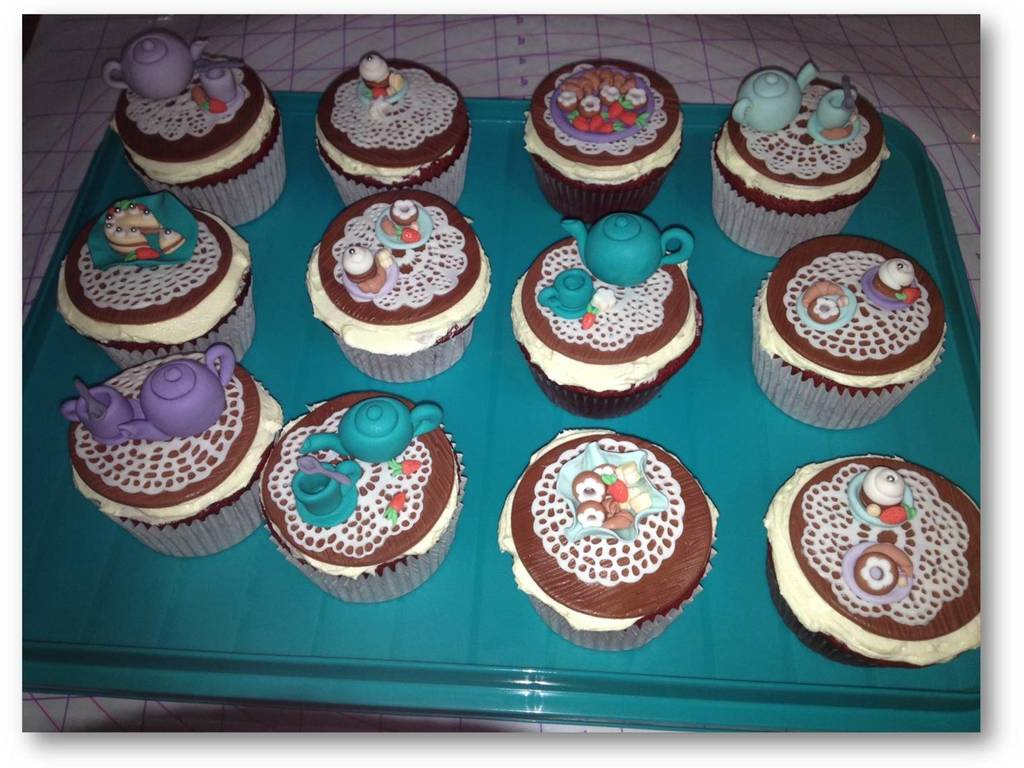 Kitchen Tea Party Kitchen Tea Party Cupcake Toppers Cakecentralcom