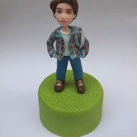 Ordinary Boy boy - cake topper