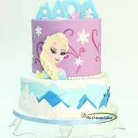 Queen Elsa Of Arendelle   Its the frozen fever going on. yet another frozen - Elsa theme cake made for a pretty Princess's - Aadya's Birthday!