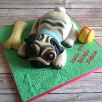 Pug Cake.. A pug cake did few weeks ago...