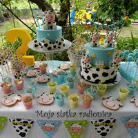 Sweettable this is my sweet table for my son Predrag <3