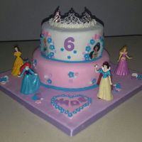 Children's Birthday   Princesses Cake