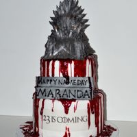 Game Of Thrones Birthday Cake Game Of Thrones Birthday Cake