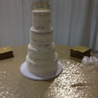 Wedding Cake buttercream cake