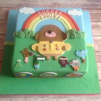 Hey Duggee.. A cake done to a TV cartoon series...