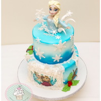 Frozen   Frozen cake inspired by Galia Hristova cakes.