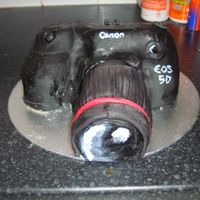 Camera Cake This was a cake for my sister, who is a photographer