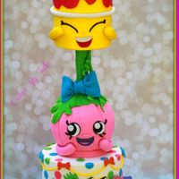 Shopkins!!   Shopkins Birthday Cake.