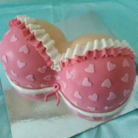 Big Or Small , Save Them All   Celebrate Breast Cancer Awareness with this lovely cake