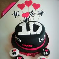 One Direction Cake! Fan cake ! Cake and cupcakes