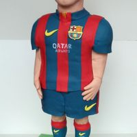 3 D Cake Sculpture Lionel Messi From Fc Barcelona! 3 D Cake Sculpture Lionel Messi from FC Barcelona!I hope you like it. :)