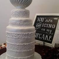 Stanley Cup Wedding Cake Moderately easy to make and transport Cup made of paper mache. Wrapped papers soaked in flour-water paste half way up and around a soft...