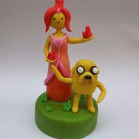 Adventures Time Cake Topper   Adventures time cake topper
