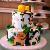 Jungle Cake They're expecting twin boys!