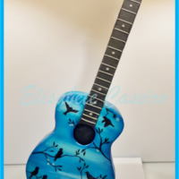 Decorative Guitar My niece loves playing the guitar and her favorite colour is blue. I wanted to make something special for her 15th birthday and decided to...