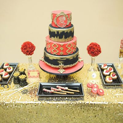 Diva Of Cake Love Sweet Table
