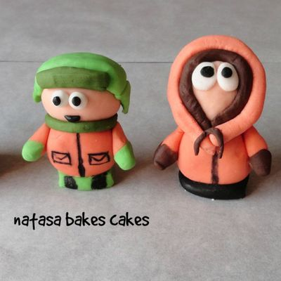 Handmade South Park Cake Toppers
