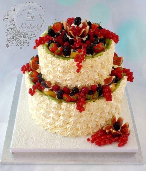 Fresh fruit Cake Decorating Photos