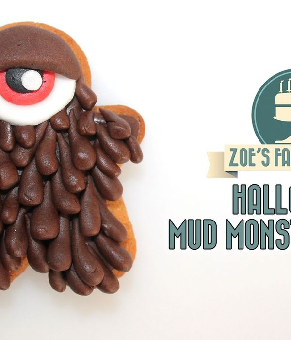 Chocolate Fondant Mud Monster Cookies