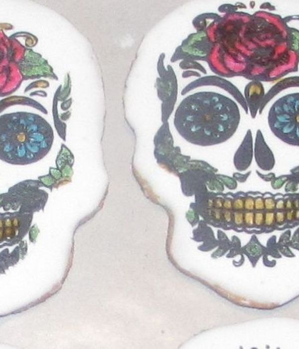 Sugar Cookie Skulls