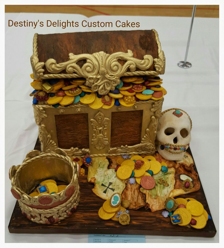 Treasure And Jewels on Cake Central