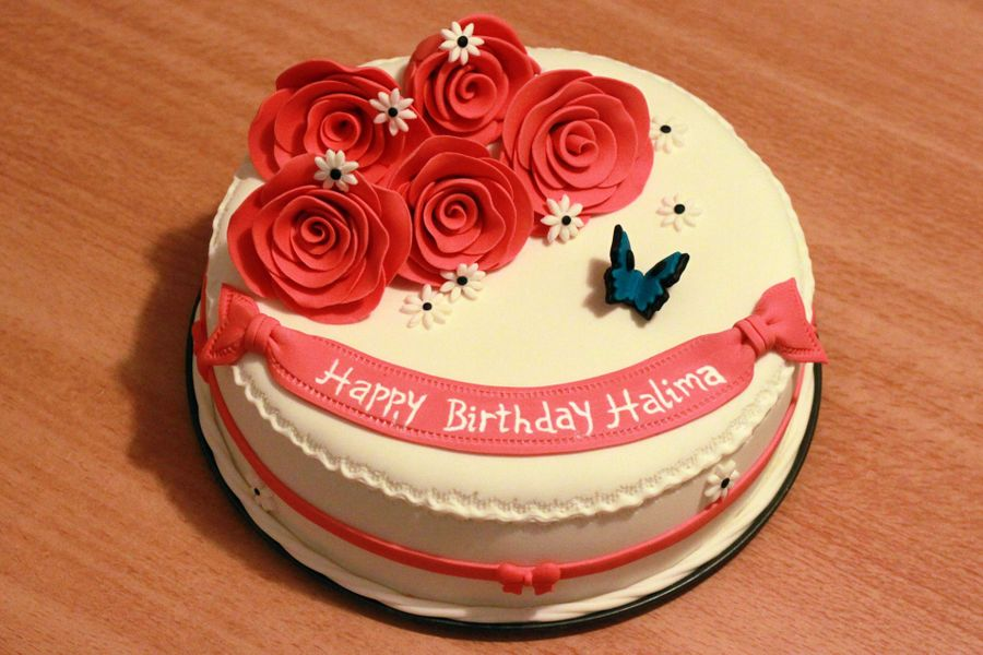 A Birthday Cake For Halima Cakecentral