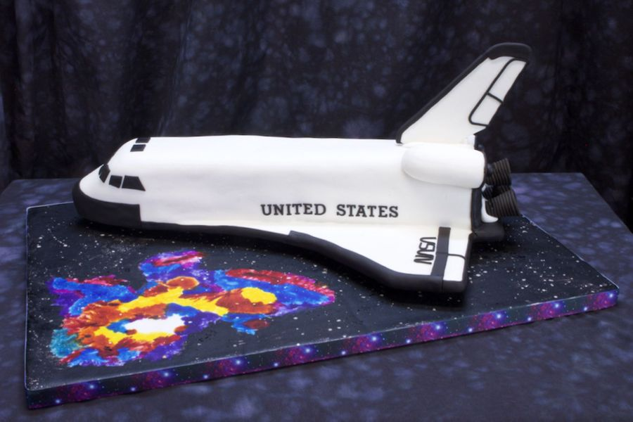 Space Shuttle Birthday Cake Cakecentral Com