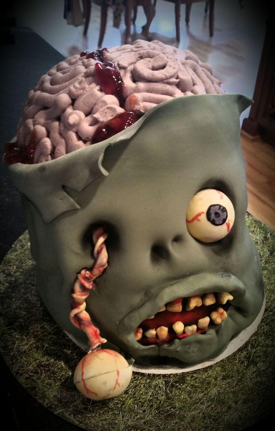 Mr Vanilla Brain Cakecentral Com