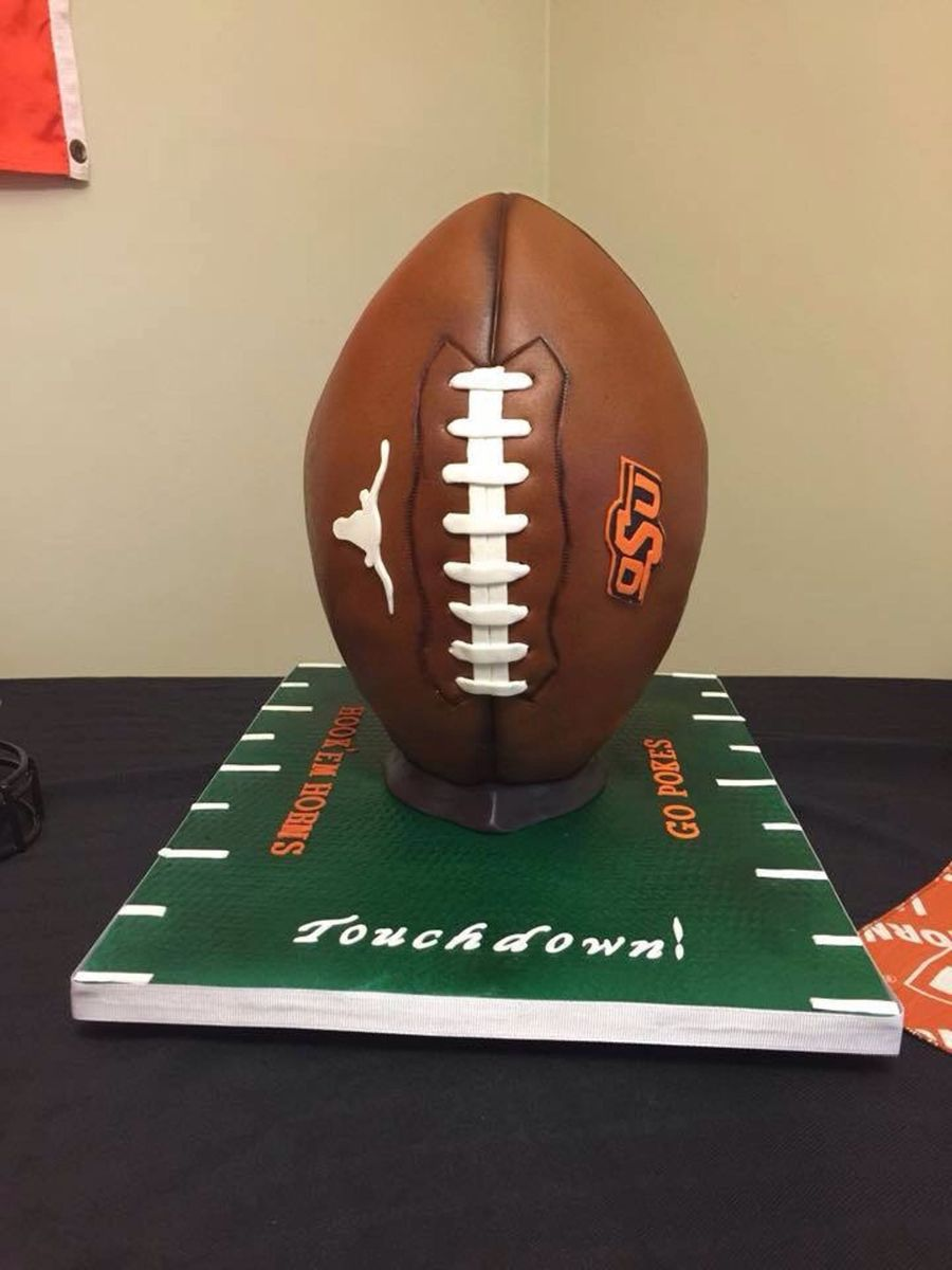 Divided House Football Cake Cakecentral Com