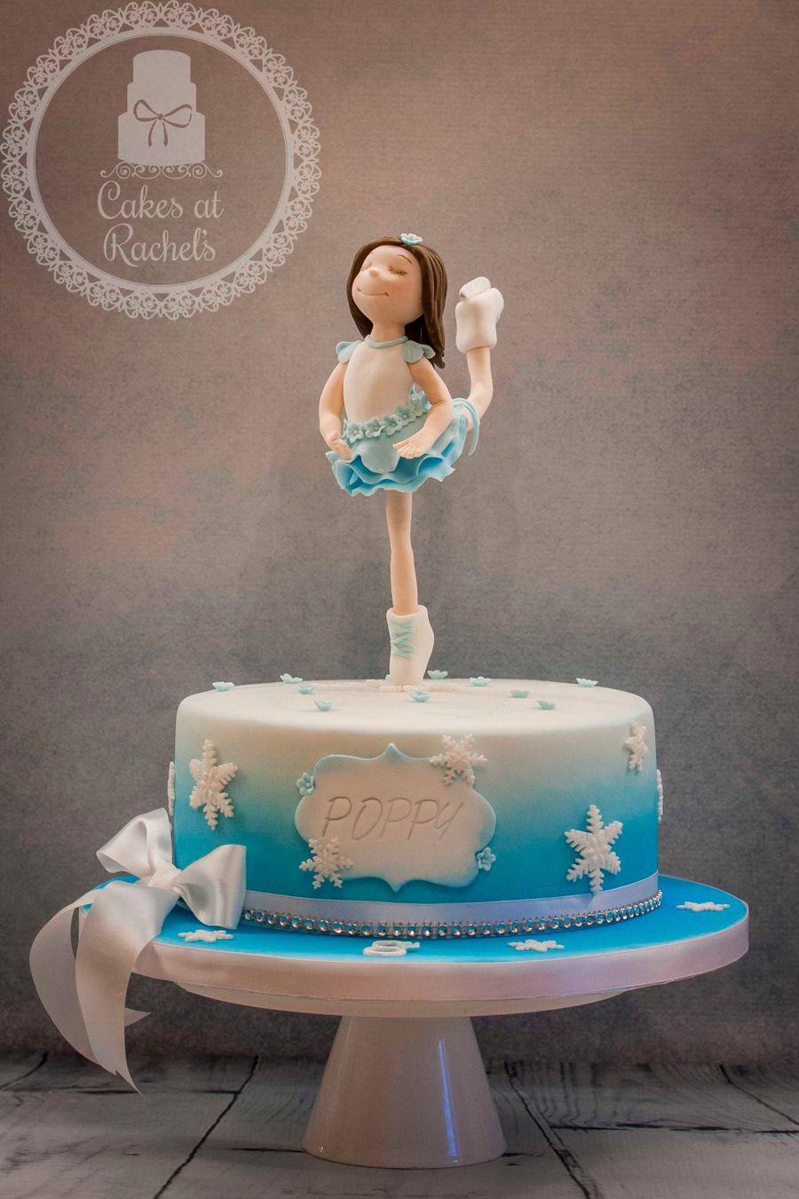Ice Skater Cake Cakecentral Com