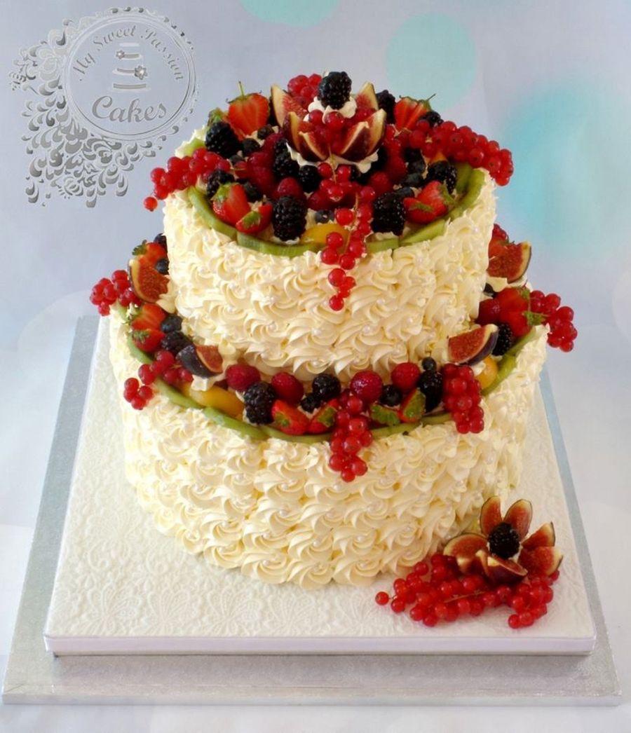 Fresh Fruit Wedding Cake Cakecentral Com