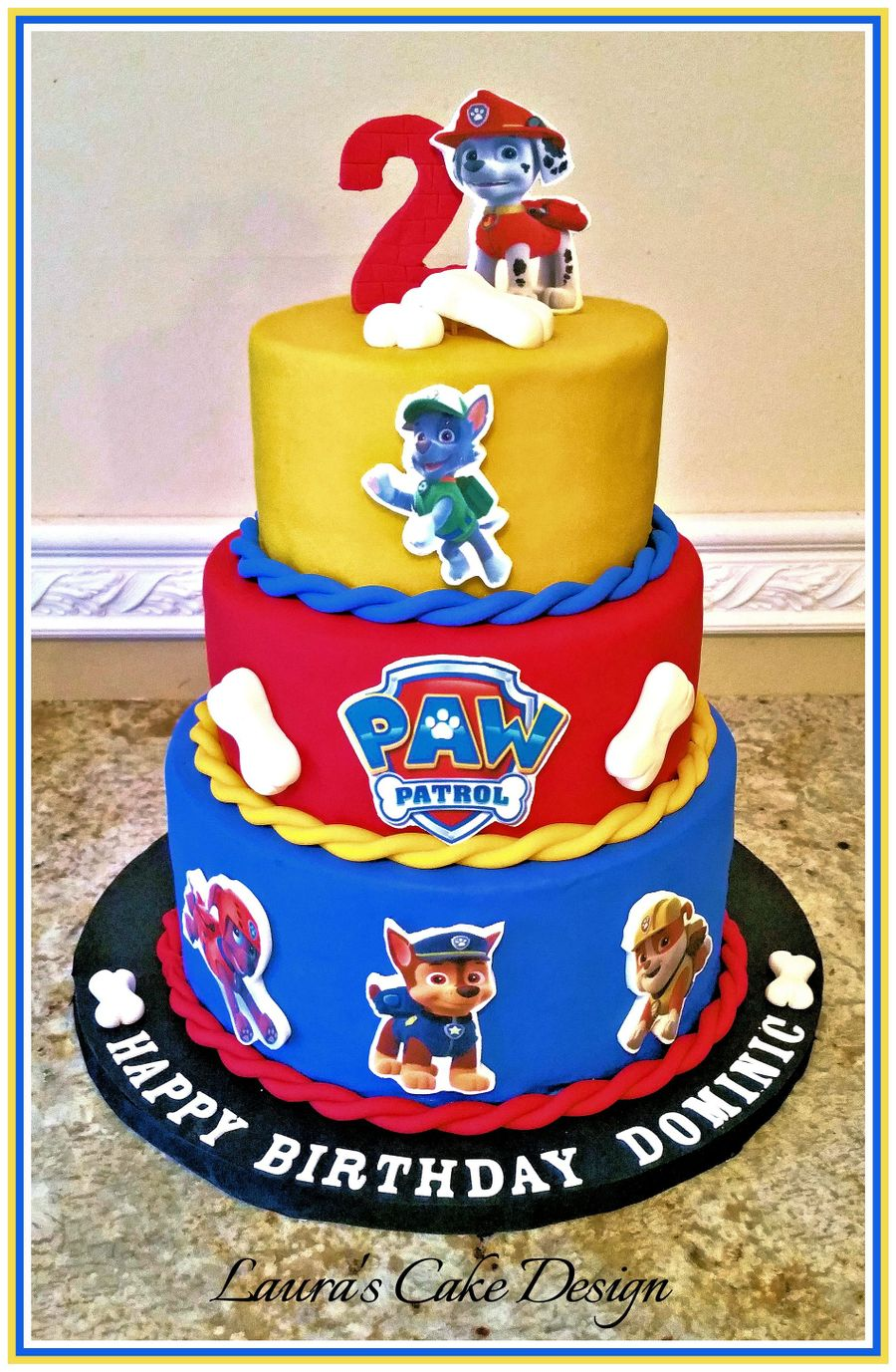 Paw Patrol Character Cake CakeCentralcom