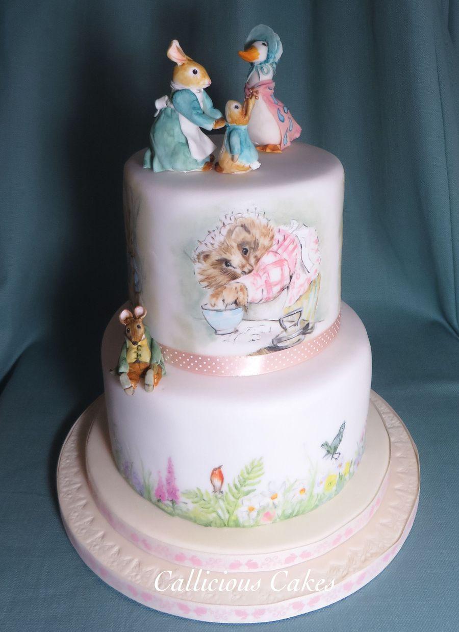 1st Birthday Beatrix Potter Cakecentral Com