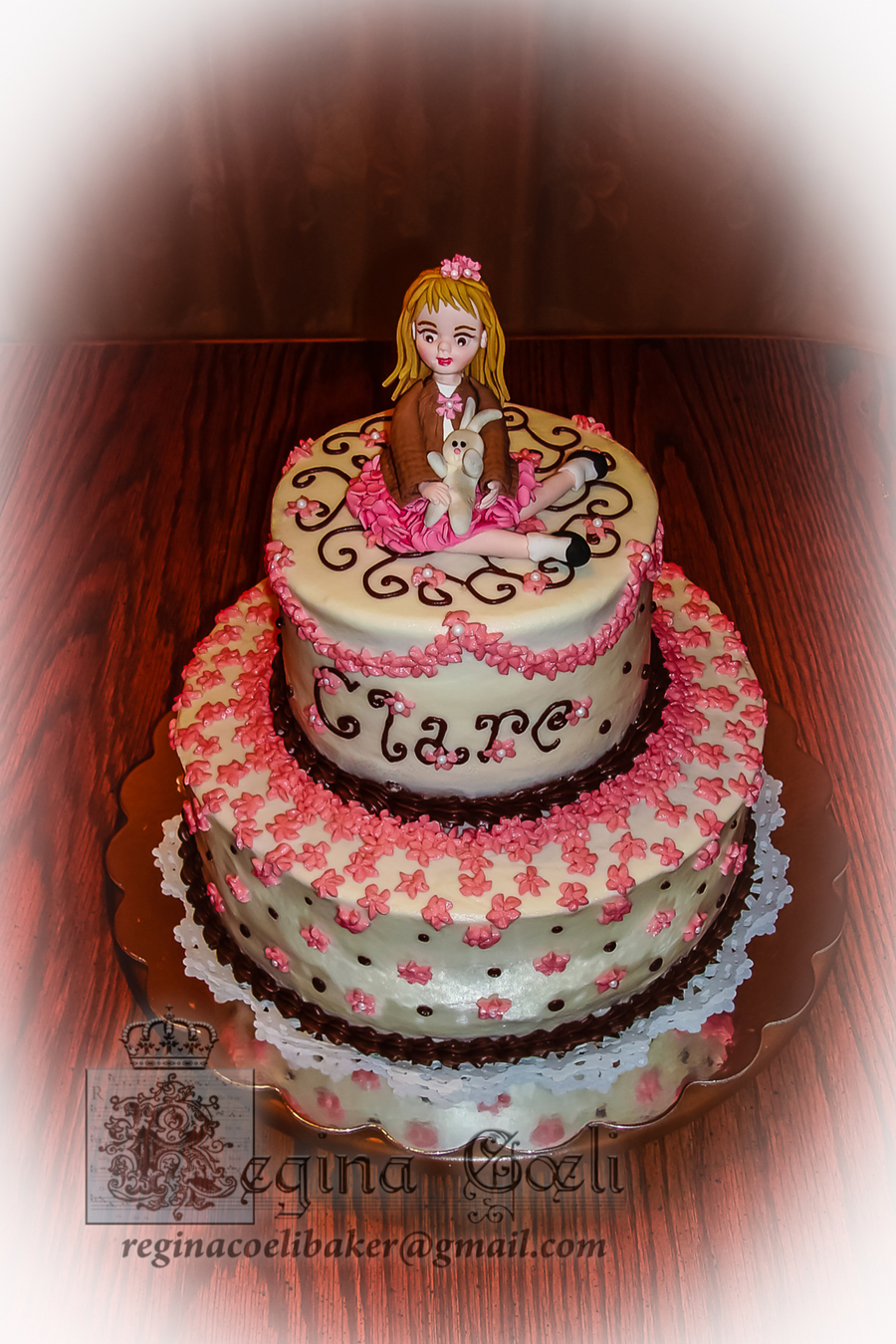 Sweet Girly Birthday Cake Cakecentral Com