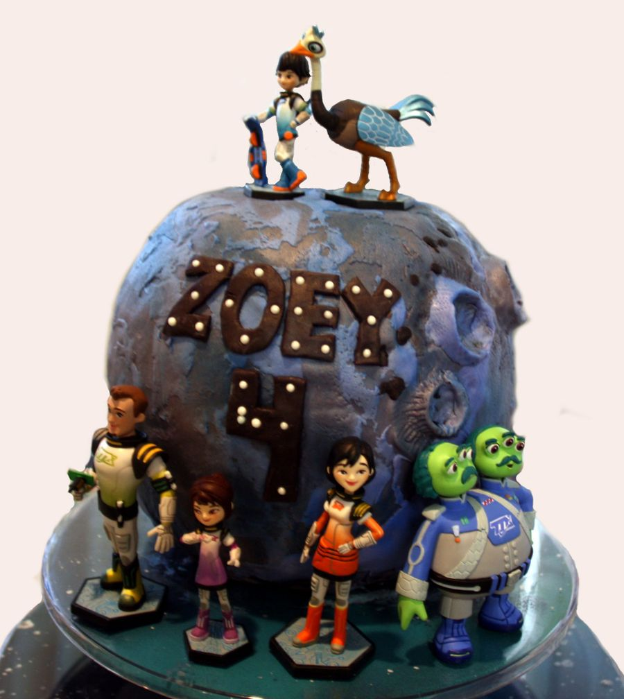 Miles From Tomorrowland Birthday Cake on Cake Central