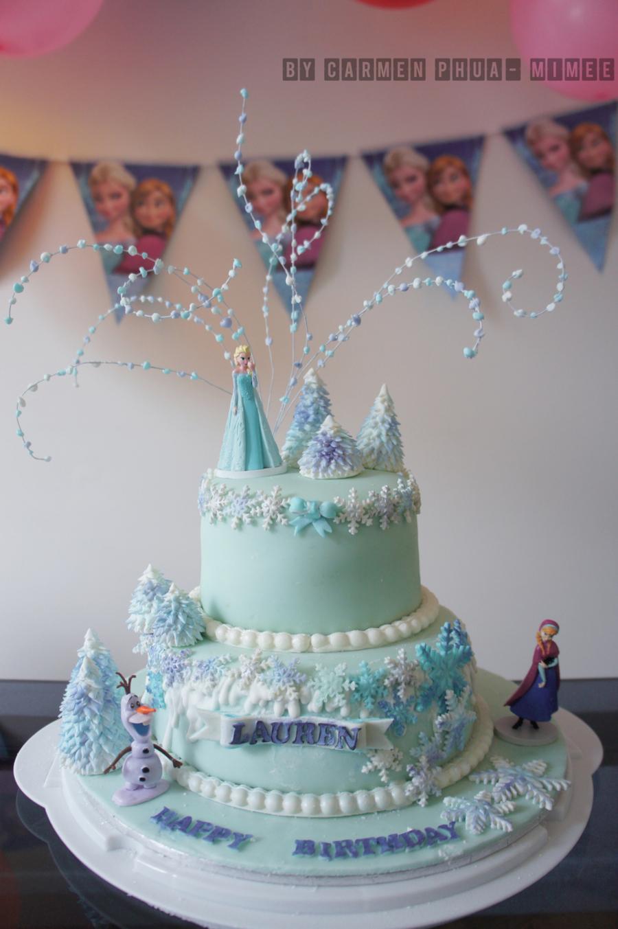 Disney Frozen Cake Cakecentral Com
