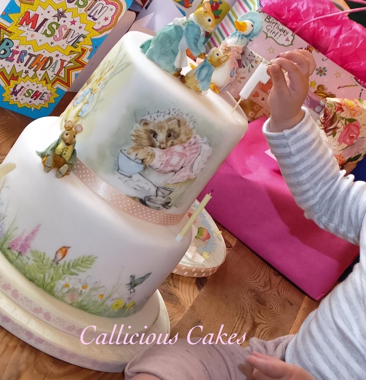 Beatrix Potter Birthday Cake
