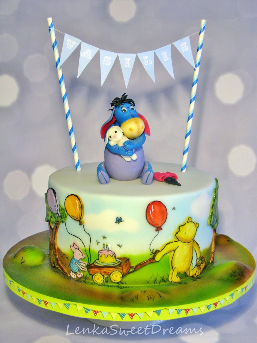 Winnie The Pooh Story Cake Cakecentral Com