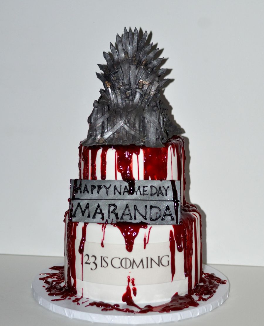 Game Of Thrones Birthday Cake on Cake Central