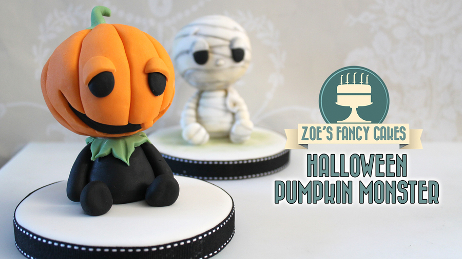 Pumpkin Monster Youtube Collab on Cake Central