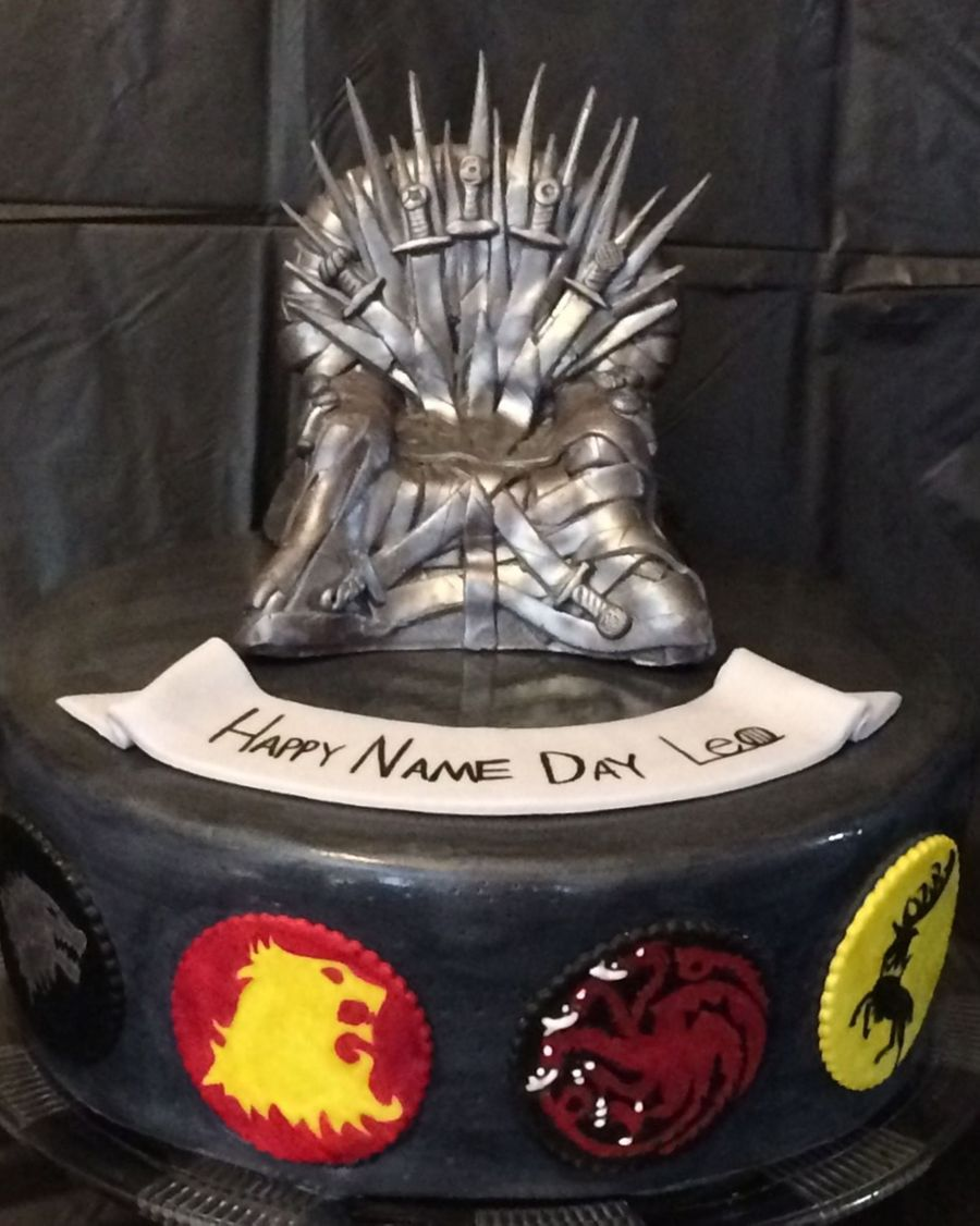 Game Of Thrones Birthday Cake Cakecentral Com