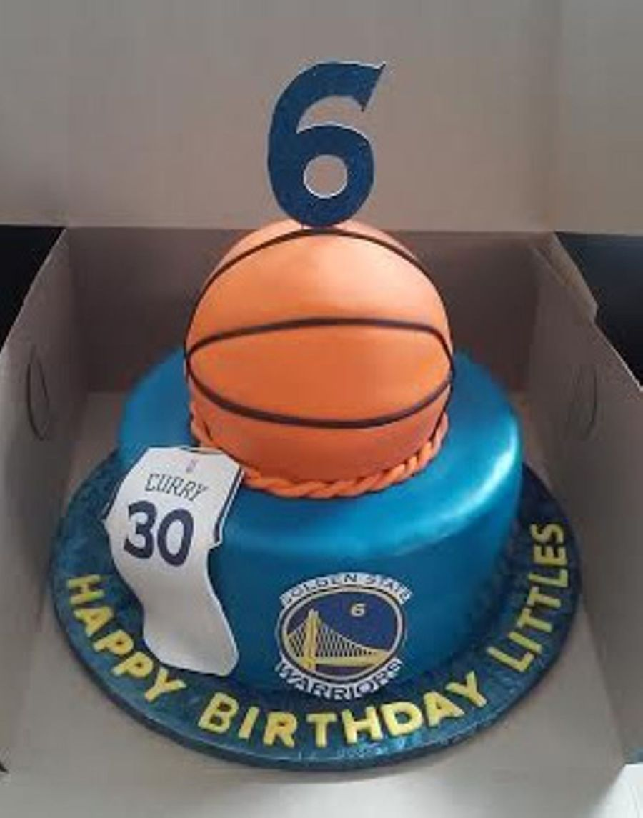 Golden State Warriors Jersey Cake