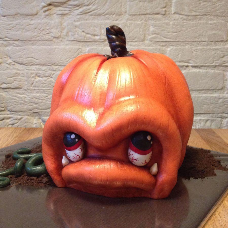 Angry Pumpkin Cakecentral Com