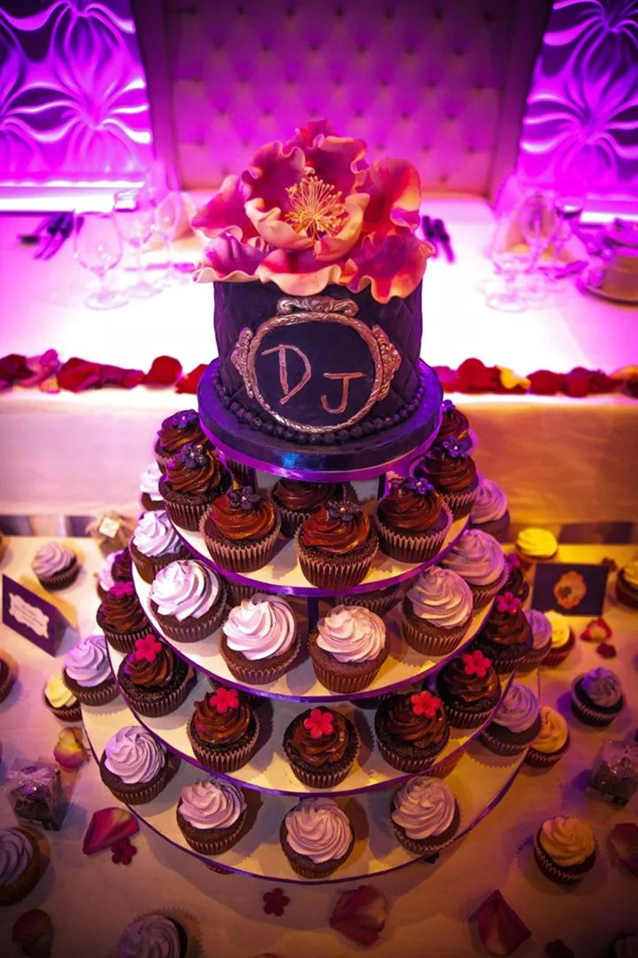 Elegant Wedding Cupcakes And Cake on Cake Central