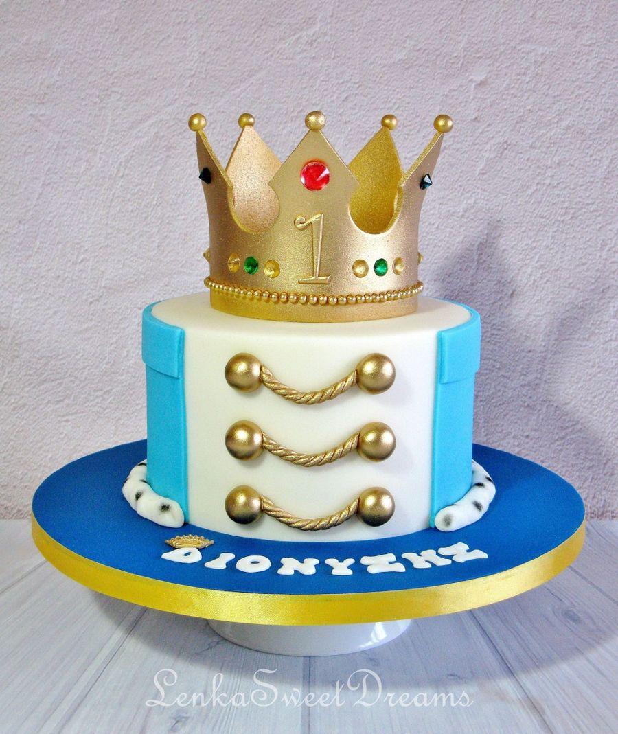 Prince Themed Birthday Cake