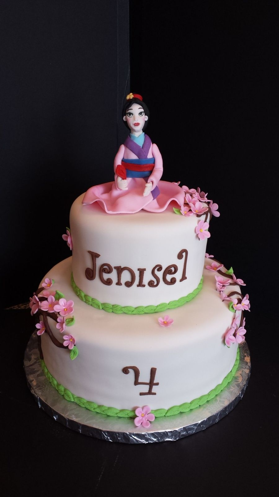 Tremendous Mulan Birthday Cake Cakecentral Com Funny Birthday Cards Online Bapapcheapnameinfo