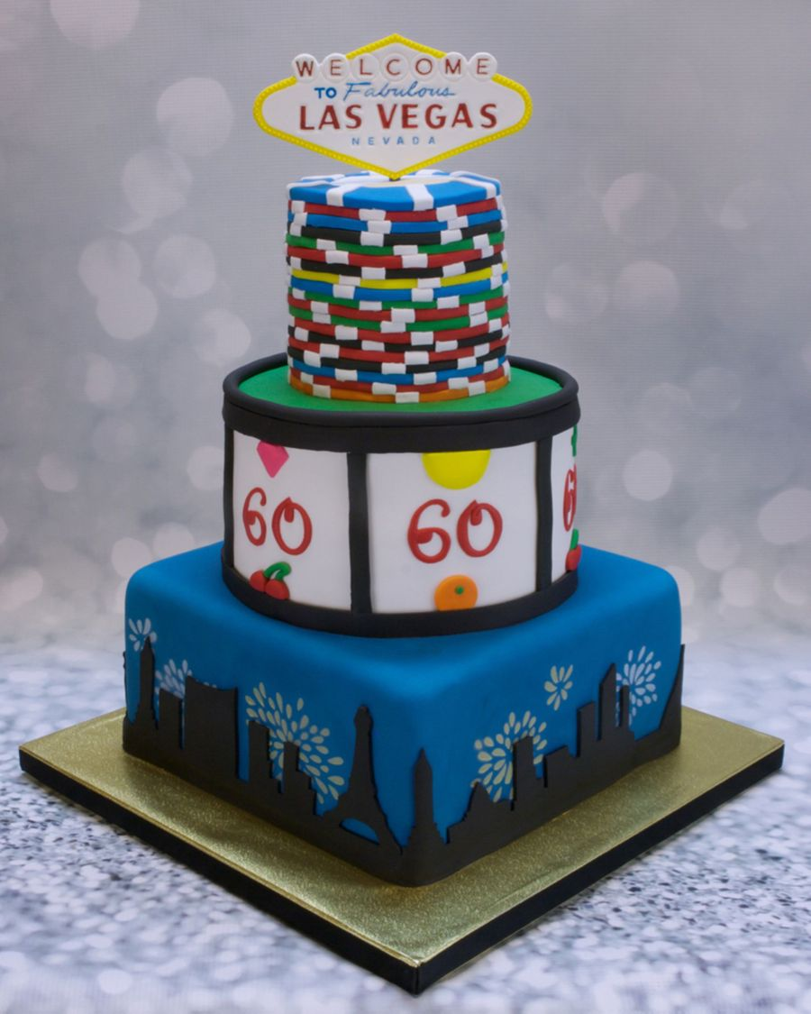 Terrific Las Vegas Birthday Cake Cakecentral Com Funny Birthday Cards Online Fluifree Goldxyz