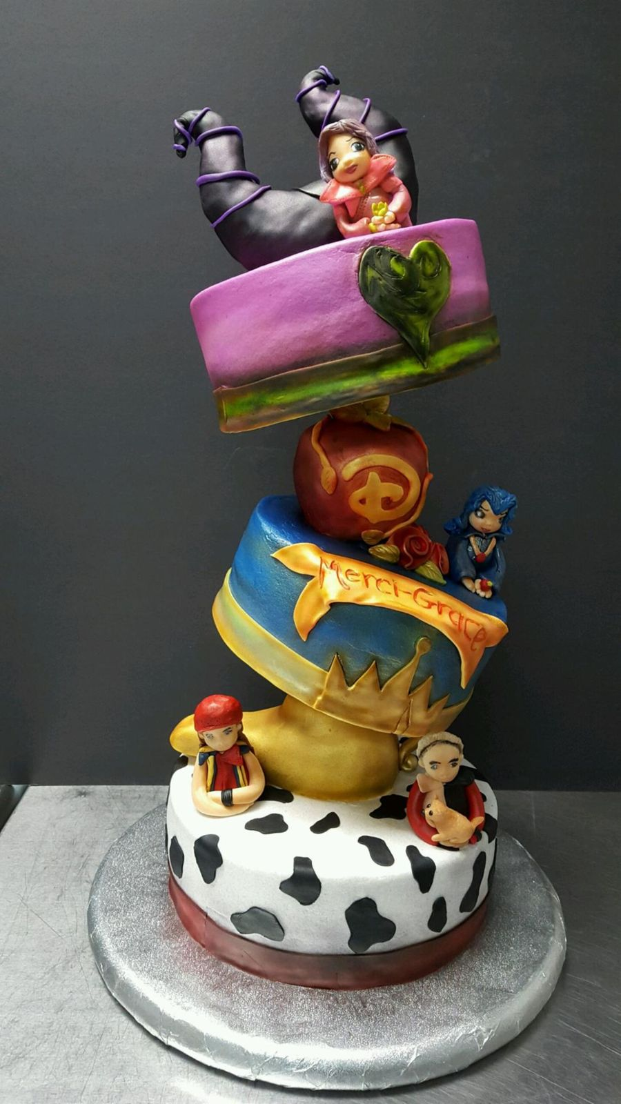 Disney S Descendants Cakecentral Com