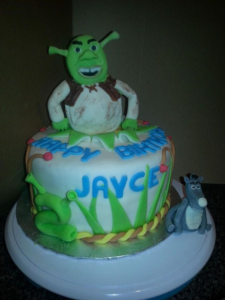 Shrek Cake on Cake Central